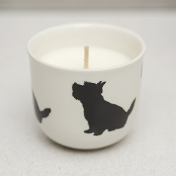 Westie Candle Pot - By Victoria Armstrong