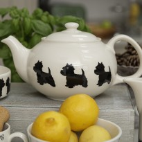 Westie Teapot- By Victoria Armstrong
