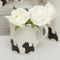 Small Westie Ceramic Jug- By Victoria Armstrong