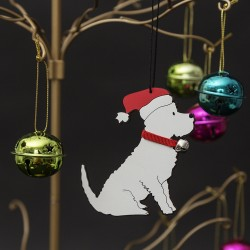 Christmas Westie Tree Decoration