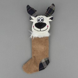 Reindeer Stocking Dog Toy