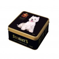Westie Luxury Shortbread Biscuits Tin