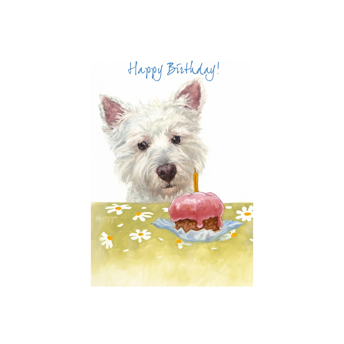 West Highland Terrier Birthday Cake