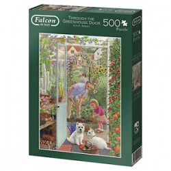 Through The Greenhouse Door Jigsaw
