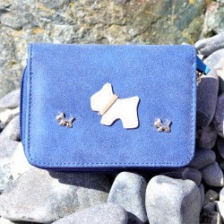 Little Westies Purse Short Blue