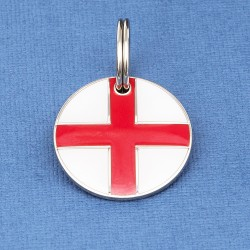 St George Cross Pet ID Tag