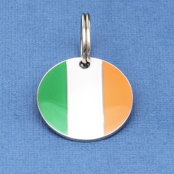 Irish Flag Pet ID Tag