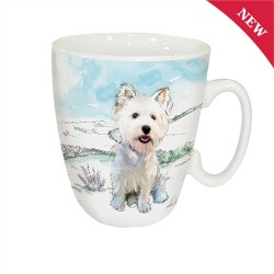 Country Westie Mug - West Highland White Terrier