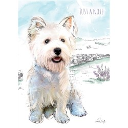 Country Westie Note Cards - Pack of 6