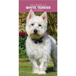 2019 West Highland White Terriers Slim Diary