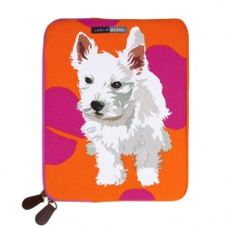 Westie Puppy Ipad Tablet Bag