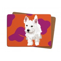 Westie Puppy Table Mat