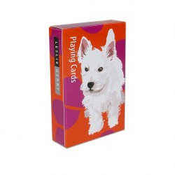 Westie Puppy Playing Cards