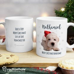 Personalised Westie Christmas Mug