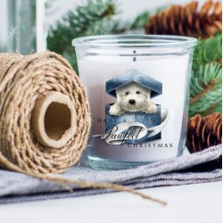 Archie Christmas Present Candle