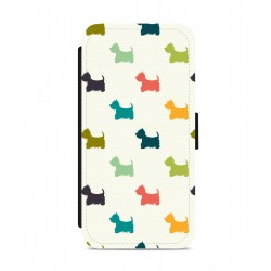 Multi-colour Westie Phone Case