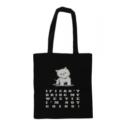 Can't Bring My Westie Tote Bag Personalised