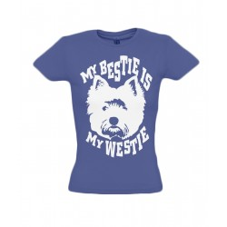 My Bestie is My Westie T-Shirt