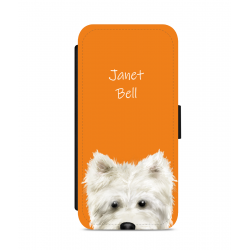 Personalised Westie Nose Phone Case
