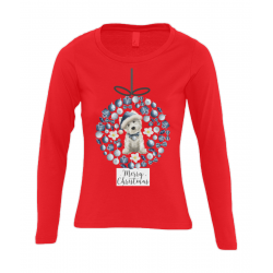 Christmas Westie Bauble T-Shirt