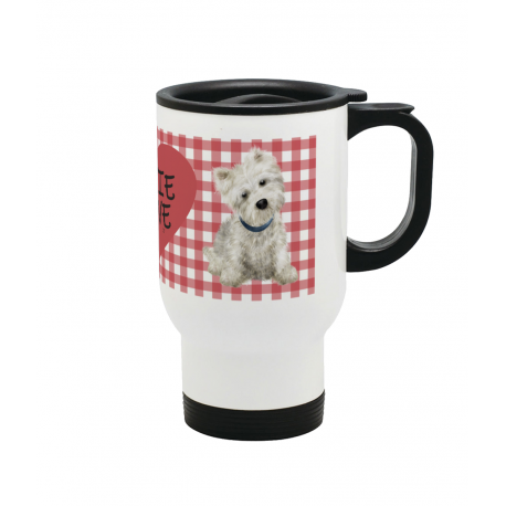 Westie Love Travel Mug