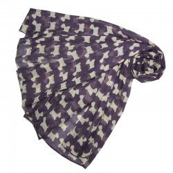 Purple Westie Wrap Around Scarf