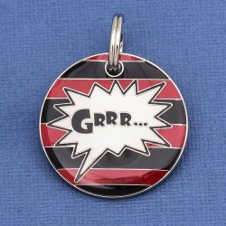 Dennis the Menace Dog ID Tag