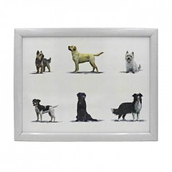 Multi Dog Breed Lap Tray