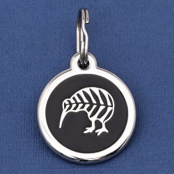 New Zealand Kiwi Bird Dog ID Tag