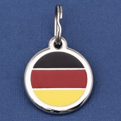 Germany Flag Dog ID Tag