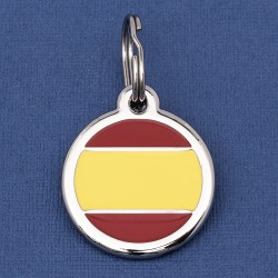 Spain Flag Dog ID Tag