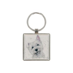 Fergal the Westie Keyring