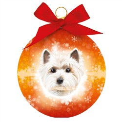 Westie Christmas Tree Bauble