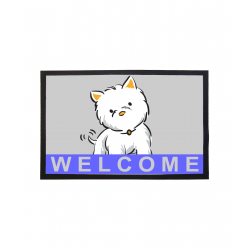Westie Welcome Floor Mat