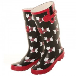 Westie Wellington Boots - West Highland White terrier Wellies