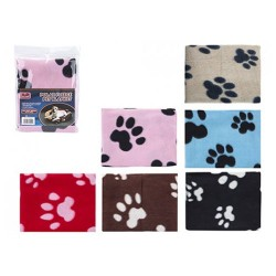 Value Fleece Pet Blanket Paw Design