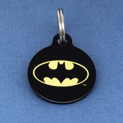 Batman Dog ID Tag