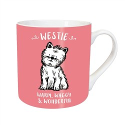 Warm Waggy Westie Mug