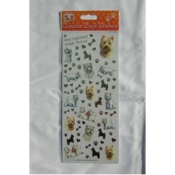 Westie Creative Craft Stickers