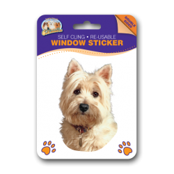 West Highland Terrier Window Sticker
