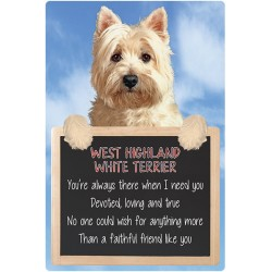 West Highland Terrier 3D Home Hang-Up