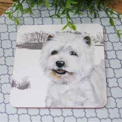 Highkand Westie Coaster