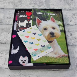 Westie Diary and Socks Boxed