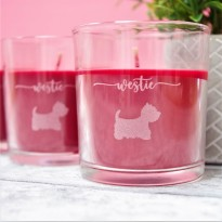 Westie Spiced Berry Candle