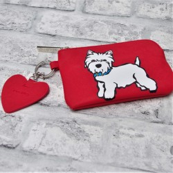Westie Dangle Pouch