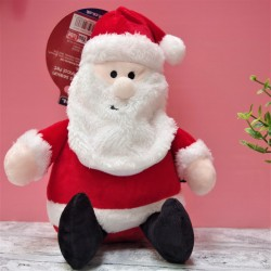Cuddly Santa Dog Toy
