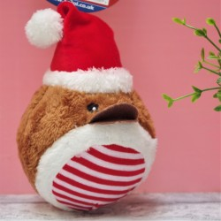 Christmas Robin Dog Toy