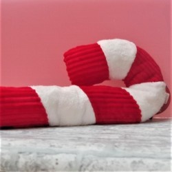 Giant Candy Cane Dog Toy