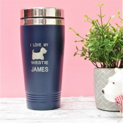 I Love My Westie Personalised Mug