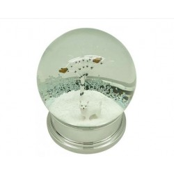 Westie Winter Snow Globe